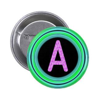 "Monograma ""A "" Pins"