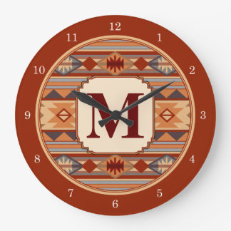Monograma al sudoeste del diseño relojes