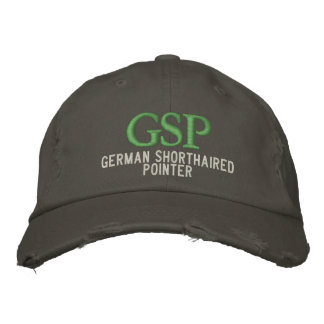 Monograma alemán del indicador de pelo corto gorras de béisbol bordadas