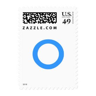Monograma azul envio