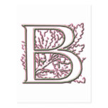 Monograma B Postal
