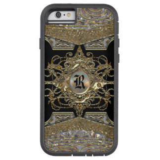 Monograma barroco 6/6s de la sacristía   de funda para  iPhone 6 tough xtreme