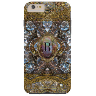Monograma barroco 6/6s de Renoirste femenino Funda Para iPhone 6 Plus Tough