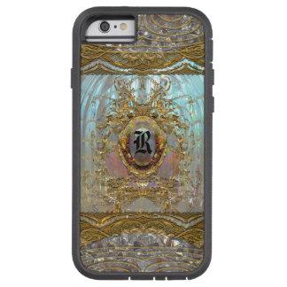 Monograma barroco 6/6s de Veraspeece Merci duro Funda Tough Xtreme iPhone 6