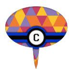 Monograma C Decoración De Tarta