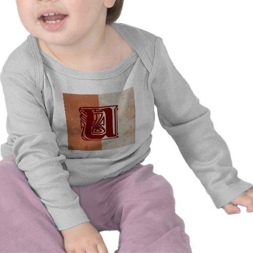 monograma camiseta