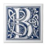 Monograma céltico de B Azulejo Ceramica