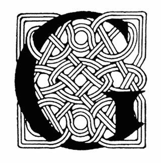 Monograma céltico del nudo del vintage de G de la  Esculturas Fotograficas