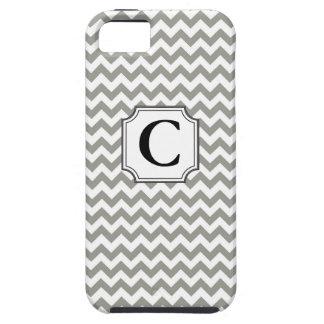 Monograma Chevron - caso del iPhone iPhone 5 Case-Mate Coberturas