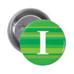Monograma con un fondo rayado colorido - I Pins