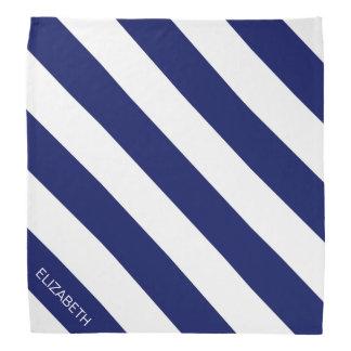 Monograma conocido de muy buen gusto horizontal de bandanas