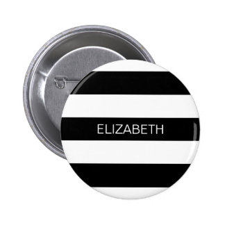 Monograma conocido de muy buen gusto horizontal de pin