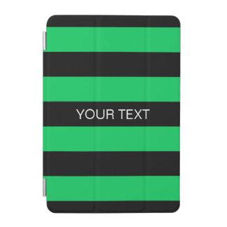 Monograma conocido de muy buen gusto negro cubierta de iPad mini