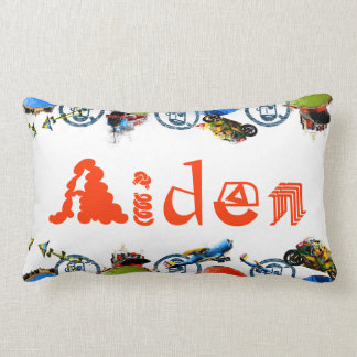 Monograma conocido personalizado para Aiden/los mu Almohadas