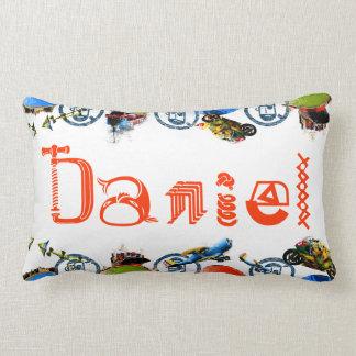 Monograma conocido personalizado para Daniel/los m Cojin