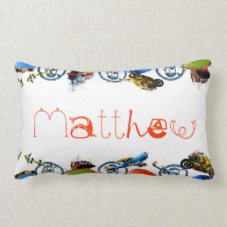 Monograma conocido personalizado para Matthew/los  Cojines