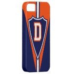 Monograma D del estilo de los deportes iPhone 5 Case-Mate Fundas