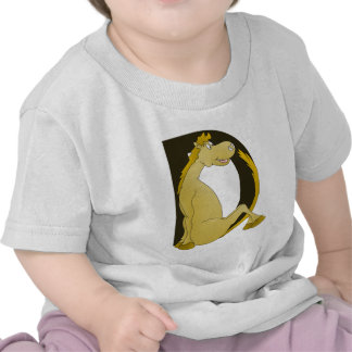 Monograma D del potro Camiseta