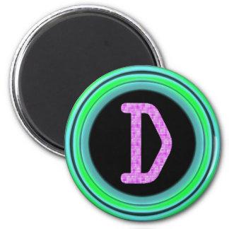 Monograma D Imanes