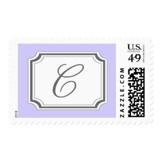 Monograma de C (suposición púrpura pálida) Envio