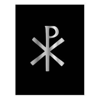 Monograma de Cristo - rho de la ji Postales
