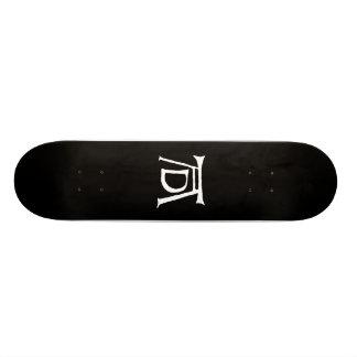 Monograma de Durer del ANUNCIO Tabla De Skate