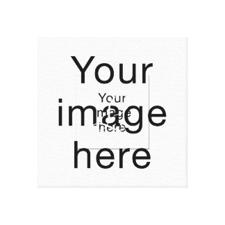 Monograma de encargo en lienzo en blanco impresiones en lona estiradas