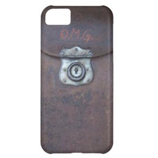 Monograma de encargo iphone5 de la cámara de la im funda para iPhone 5C