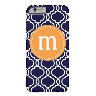 Monograma de encargo marroquí de muy buen gusto en funda de iPhone 6 barely there