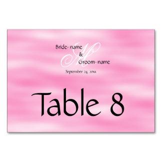 Monograma de encargo rosado del boda