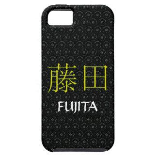 Monograma de Fujita iPhone 5 Fundas