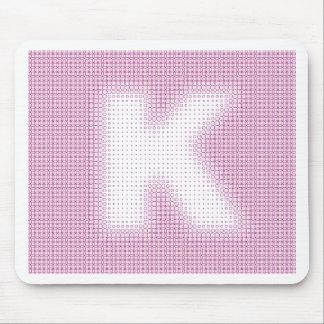 Monograma de K Tapetes De Ratón