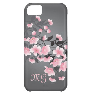 Monograma de la flor de cerezo (Sakura)