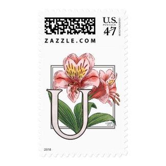 Monograma de la flor de Ulster Maria Estampillas