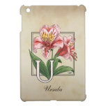 Monograma de la flor de Ulster Maria iPad Mini Protectores