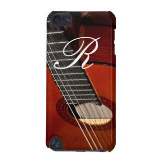 Monograma de la guitarra funda para iPod touch 5G