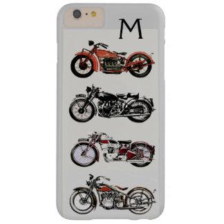 MONOGRAMA DE LAS MOTOCICLETAS DEL VINTAGE FUNDA PARA iPhone 6 PLUS BARELY THERE