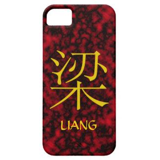 Monograma de Liang Funda Para iPhone 5 Barely There
