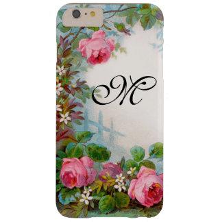 MONOGRAMA DE LOS ROSAS Y DE LOS JAZMÍNES FUNDA BARELY THERE iPhone 6 PLUS