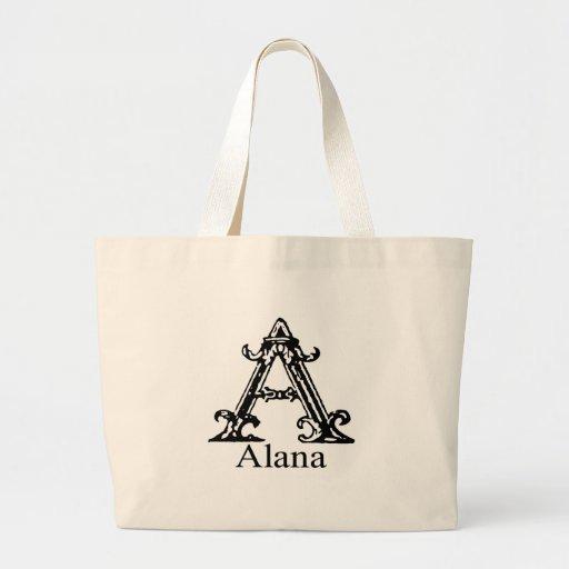 Monograma de lujo: Alana Bolsa Tela Grande