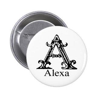 Monograma de lujo: Alexa Pin