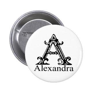 Monograma de lujo Alexandra Pins