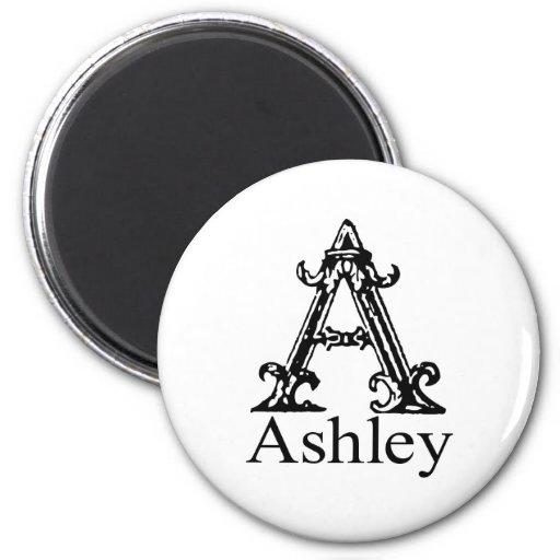 Monograma de lujo: Ashley Imán Redondo 5 Cm