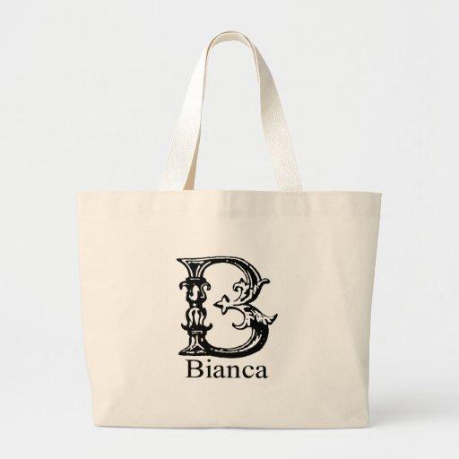 Monograma de lujo: Bianca Bolsa De Mano