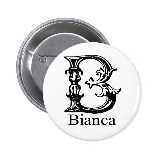 Monograma de lujo: Bianca Pins