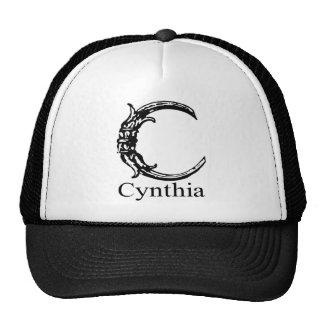 Monograma de lujo: Cynthia Gorro De Camionero