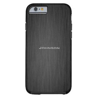 Monograma de lujo del personalizado del modelo del funda de iPhone 6 tough