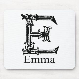 Monograma de lujo: Emma Mousepad