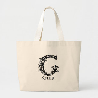 Monograma de lujo: Gina Bolsa