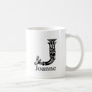 Monograma de lujo: Juana Taza De Café